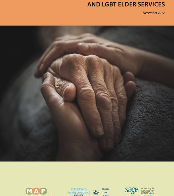 Movement Advancement Project issues report on religious exemption laws and their impact on LGBT elder services