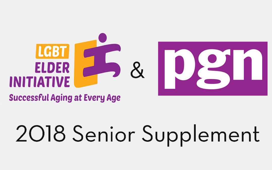 LGBT Elder Initiative and Philadelphia Gay News release 2018 Senior Supplement